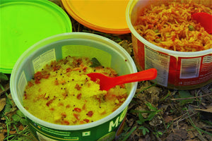 Dehydrated Indian meals (add variety to your backpacking meal menu)