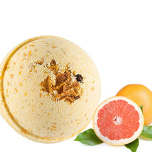 Load image into Gallery viewer, Grapefruit, Nectarine & Apricot Handmade Bath Bomb