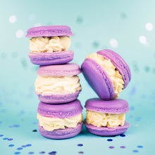 Load image into Gallery viewer, Sweet Lavender Honey Macaron Soap