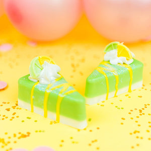 Lemon Lime Pie Slice Soap