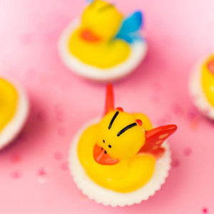Butterfly Rubber Ducky Soap