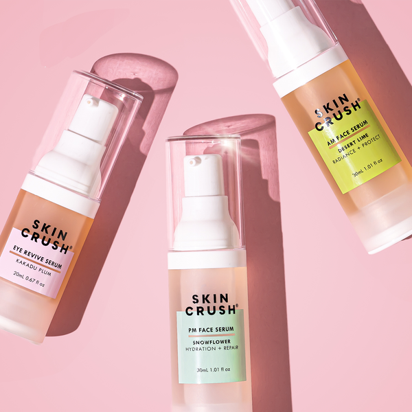 How do Skin Crush Serums work?