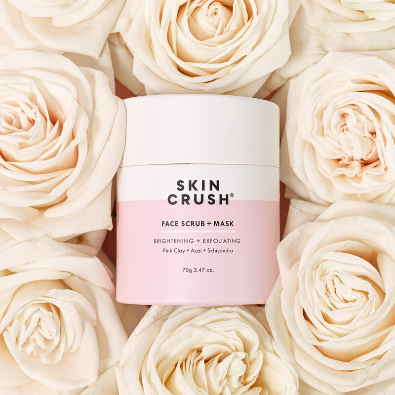 Brightening & Exfoliating Face Scrub + Mask 70gm