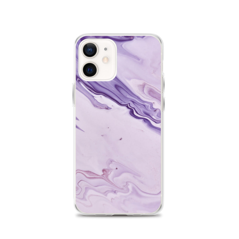 Lavender Tsunami iPhone Case