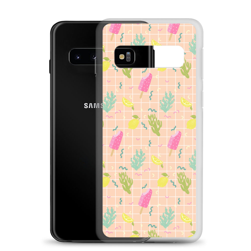 Cream Samsung Case