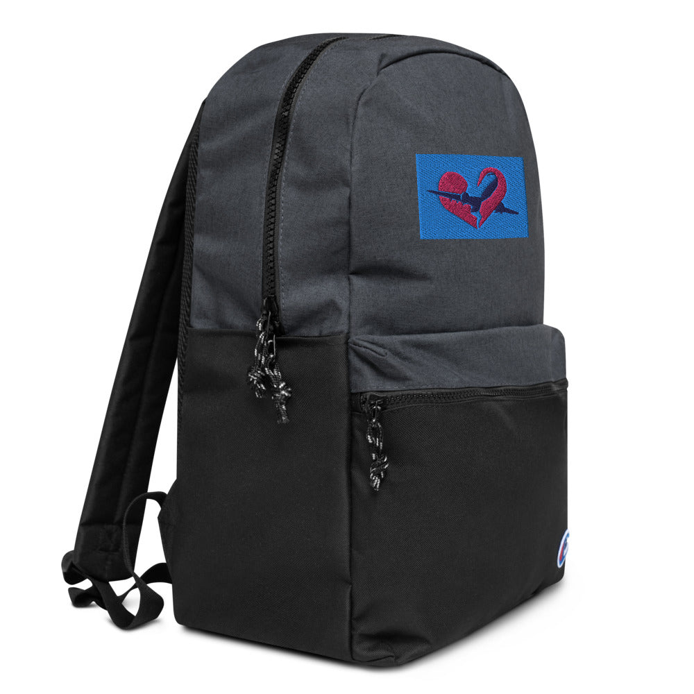 Embroidered Flights Champion Backpack
