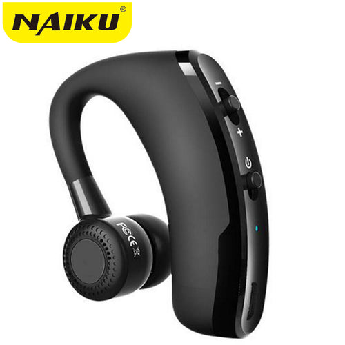 Handsfree Wireless Bluetooth Earphones Noise Cancelling Business Wireless Bluetooth Headset with Mic for Driver Office Sports - Hush Hobbies