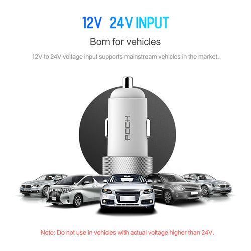 Car Charger Dual USB Quick Charge