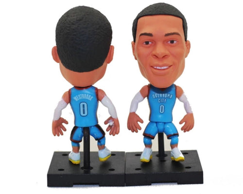 NBA Basketball Action Figure - Russel Westbrook (Oklahoma City Thunder)