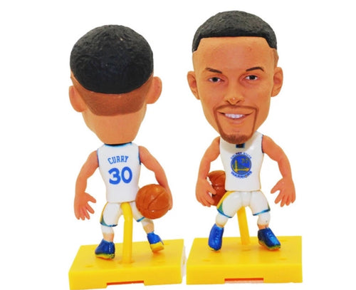 NBA Basketball Action Figure - Stephen Curry (Golden State Warriors)