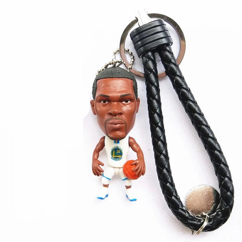 NBA Basketball Action Figure Keychain - Kevin Durant ( Golden State Warriors )