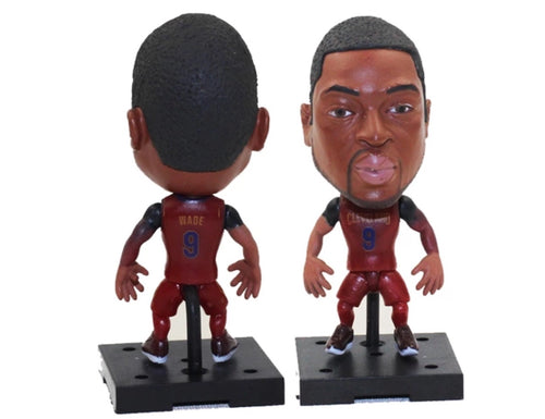 NBA Basketball Action Figure - Dwyane Wade (Cleveland Cavaliers)