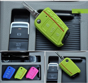 Car Accessories Key Case For Volkswagen VW Golf 7
