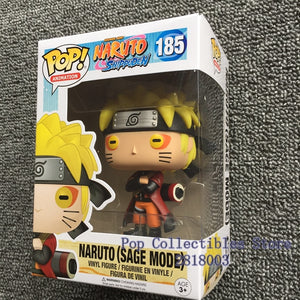 Funko pop Naruto Shippuden - Naruto (Sage Mode) #185 Vinyl Action Figure