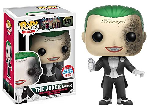 NYCC Exclusive Funko pop Official Suicide Squad - The Joker Grenade
