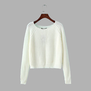 Autumn Women Sweaters and Pullovers Korean Style