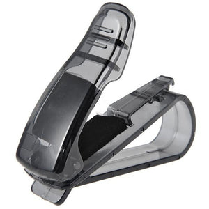 Car-styling Car Sun Visor Glasses Clip Storage Holder