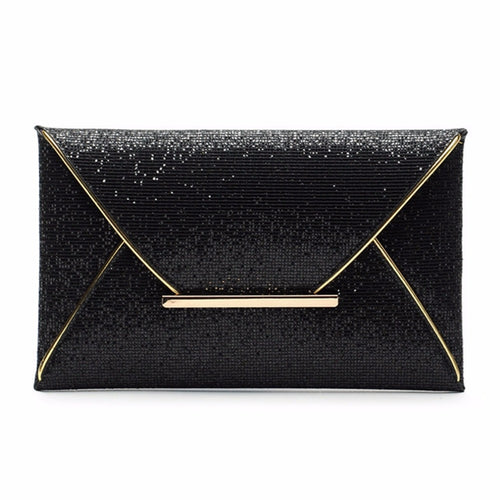 Envelope Sparkle Bling Day Clutch Bags