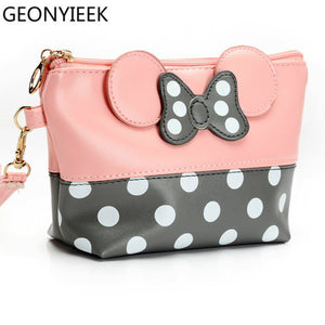 Cute Cosmetic Make Up Travel Toiletry Pouch - Hush Hobbies