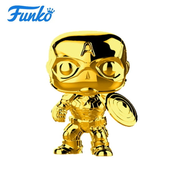 FUNKO POP! Captain America Gold