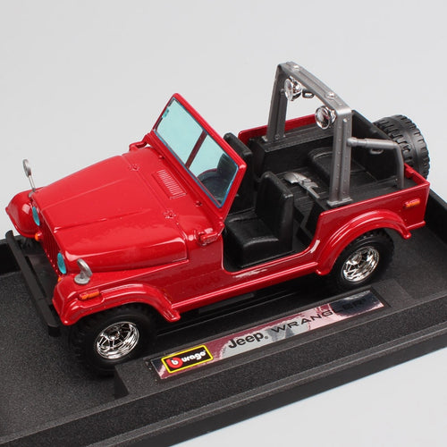 BBurago Wrangler Jeep Miniature Model (1:24)