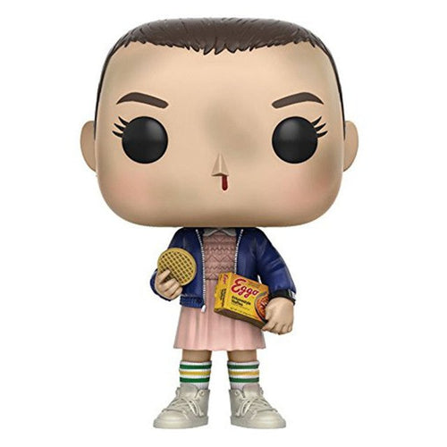 FUNKO POP Stranger Things Theme Toys Action Figure Short Hair Small Eleven Collectible Model Vinyl Dolls Children Gift