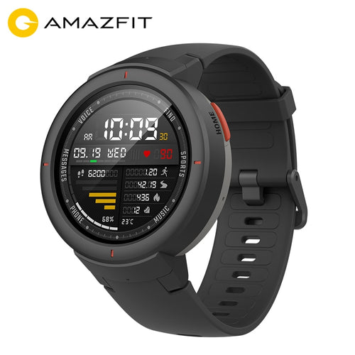 Amazfit Smartwatch 1.3-inch AMOLED Screen Dial & Answer Calls