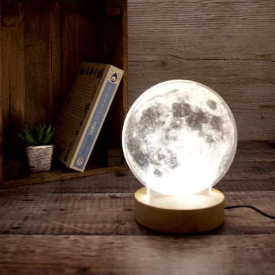 3d moon lamps for Moon lovers in the UK