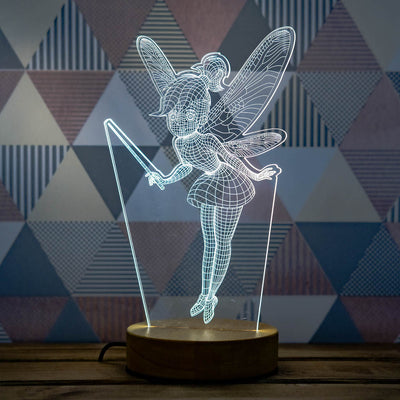 3D illusion fairy lamp