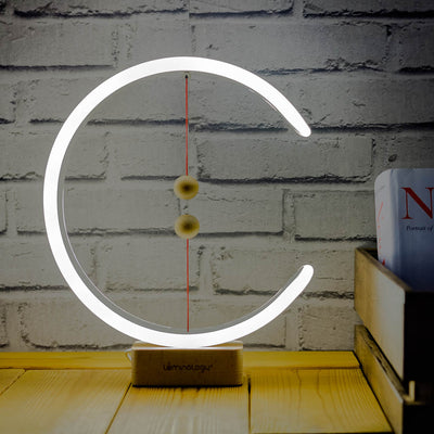 Magnetic Newton LED Lamp