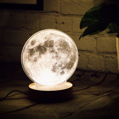 moon led lamp in England