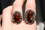 Fire Agate Rings