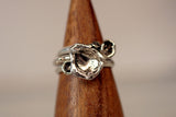 Water Cast Rings size 9.5