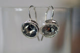 Water Cast Dangle Earrings
