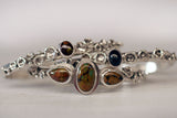 Water Cast Fire Agate Cuff