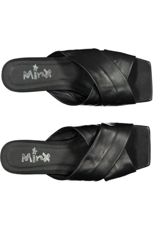 Minx Megs Slides - Black
