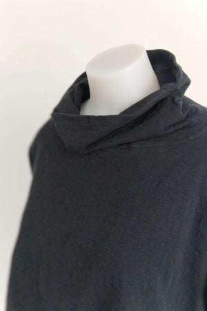 TCD Channel Pullover - Black Jersey