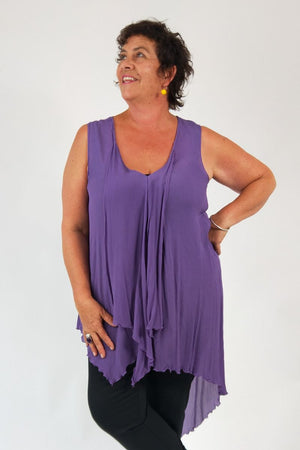 TCD Curly Cami - Lavender