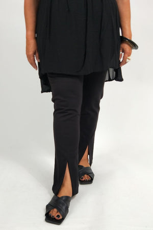 TCD Disco Split Pant - Black