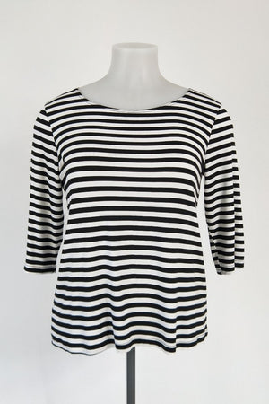 TCD 3Q Simply Tee - Small Stripe