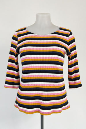 TCD 3Q Simply Tee - Candy Stripe