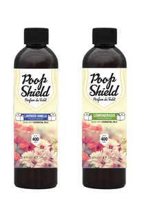 Poop Shield Set of 8oz (2pcs)