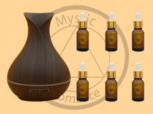 Load image into Gallery viewer, Set of Diffuser (65562) with 6 Essential Oils