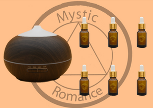 Set of Diffuser (65566) with 6 Essential Oils