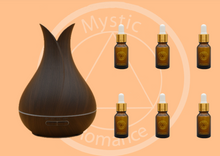 Load image into Gallery viewer, Set of WIFI Diffuser (65576) with 6 Essential Oils