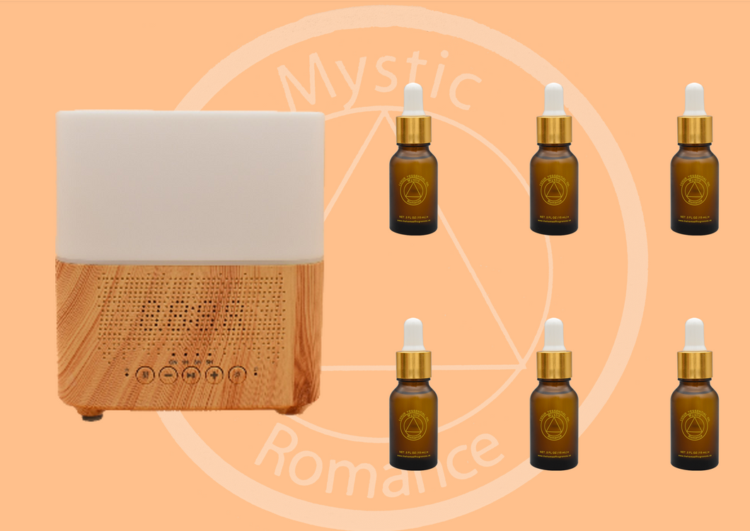 Set of WIFI Diffuser with 6 Essential Oils
