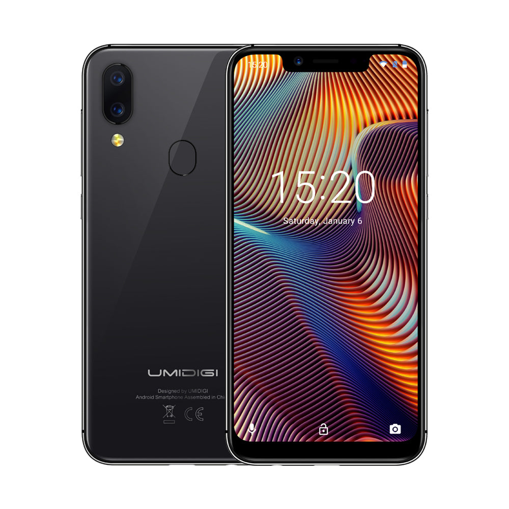 UMIDIGI A3 Pro Global Bands 5.7 Inch HD+ 3300mAh Android 8.1 3GB 32GB MT6739 Quad Core 4G Smartphone
