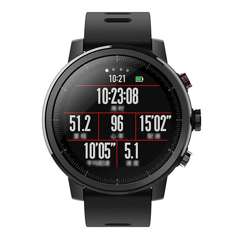 International Version AMAZFIT Stratos Sports Smart Watch 2 GPS 1.34inch 2.5D Screen 5ATM from xiaomi Eco-System