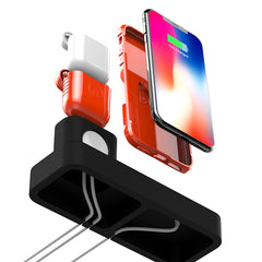 3 in1 Charging Dock Station Phone Holder Stand For iPhone XS Max XS XR Apple AirPods Apple Watch Series 1 2 3 4