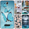 "Case For Lenovo A2010 Cover 4.5"" Cute Animal Scenery Printing Patterned For Lenovo A2010 A 2010 Case Phone Back Cover Fundas"